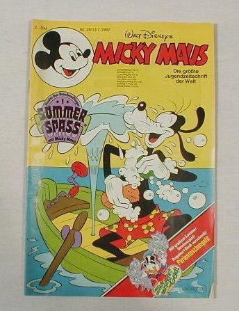 Micky Maus 1982/28 mit Beilage TOPZUSTAND 0-1/1 17571