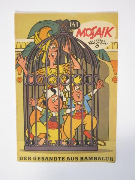 Mosaik DDR Comic Nr. 141 Vlg. Junge Welt im Zustand (1). 64859
