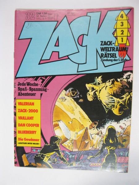 ZACK Comic Nr. 73/32 Koralle Vlg. im Zustand (1-2). 78565