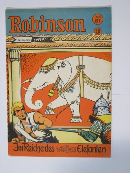 Robinson Nr. 81 Comic Gerstmayer Verlag im Z. (1-2). 74909