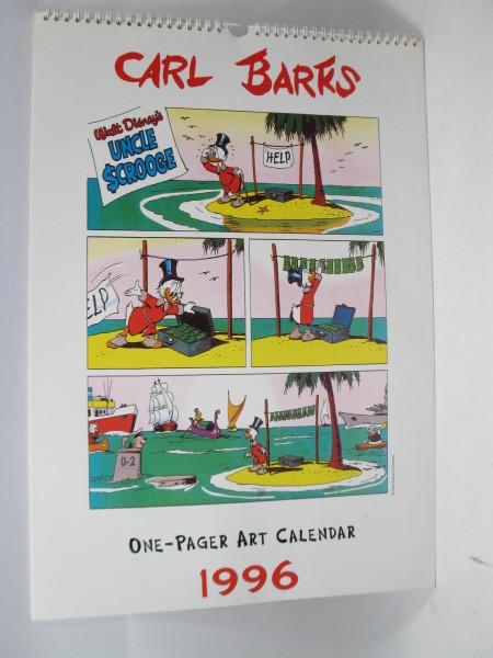 Barks One Page Art Kalender 1996 OVP w119