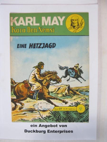 Karl May 27 Lehning Verlag (Winnetou) im Zustand (1-2) 45572