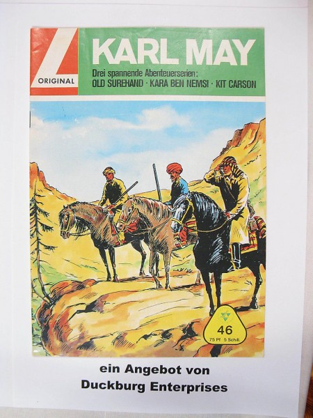 Karl May 46 Lehning Vlg. (Winnetou) in Z (1-2) 41539