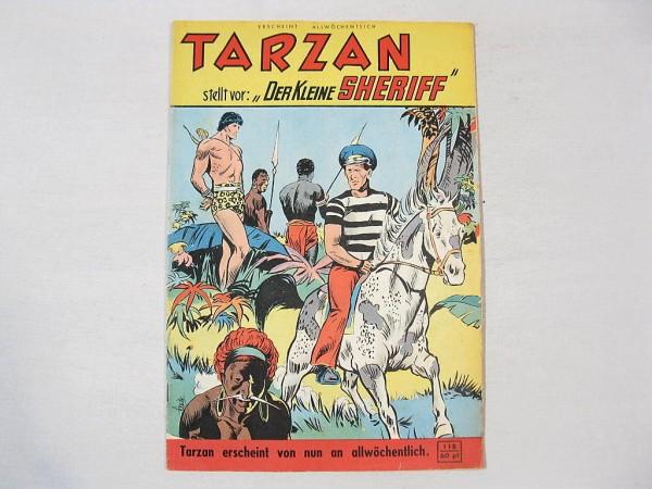 Tarzan Großband Nr. 118 Mondial Verlag Z (1-2) 36614