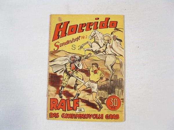 Horrido Sonderheft Nr. 2 Original von 1954 33438