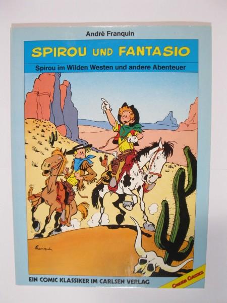 Spirou Classics Wilder Westen Carlsen 1. Auflage 50598