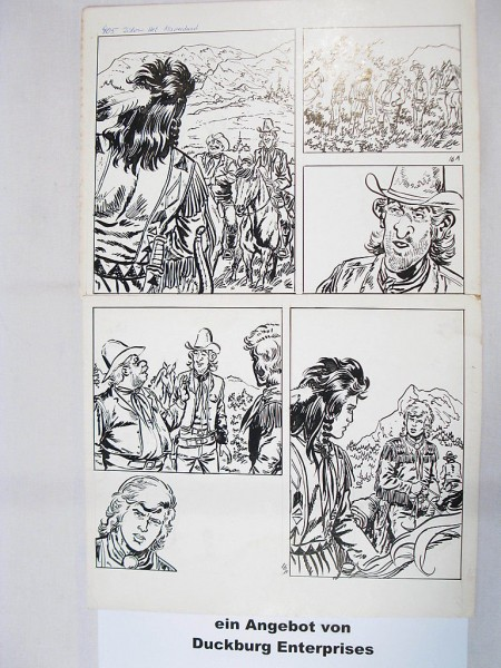 Silberpfeil Originalseite 16 aus Heft 335 Frank Sels (27889)