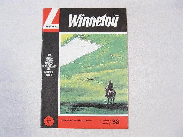 Winnetou 33 Lehning Verlag/ Karl May in Z (0-1) 35235