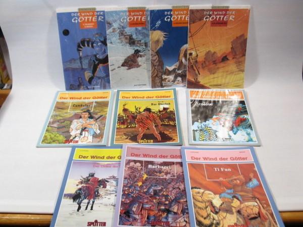 10x Wind der Götter Nr. 6-15 im Zustand (0) Comic KULT Verlag 98483