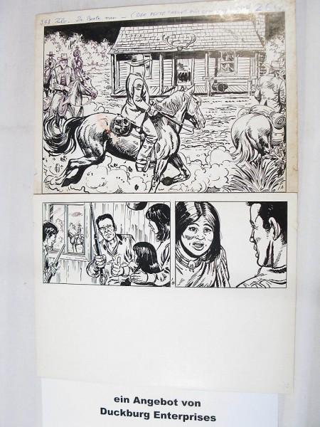 Silberpfeil Originalseite 1 aus Heft 266 Frank Sels (27905)