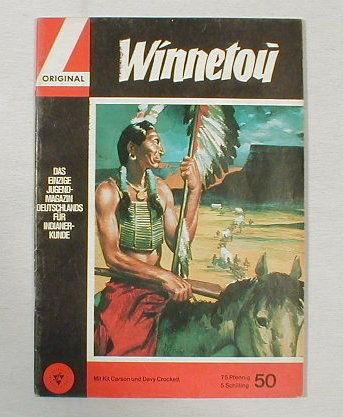 Winnetou 50 Lehning Verlag 60er Jahre 16883