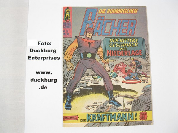 Rächer Nr. 20 Marvel Comic Williams (Z 1-2) 39032