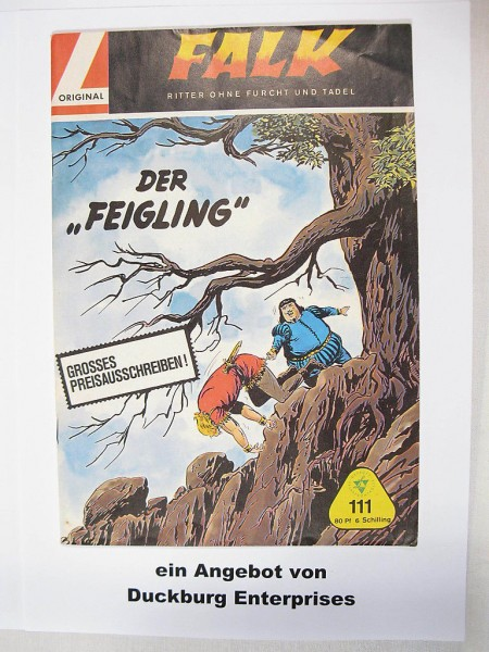 Falk Großband Nr. 111 (Lehning Verlag ) in Z (1-2) 41078
