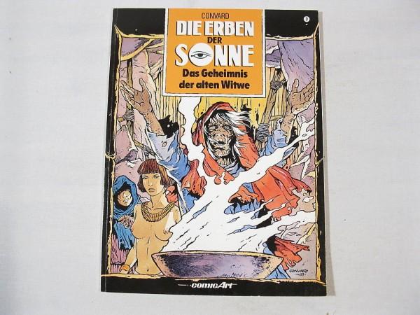 Erben der Sonne Nr. 3 Carlsen Comic 1. Auflage 25869