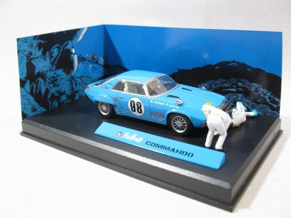 Michel Vaillant Auto Commando Metall Diorama 1:43 85288