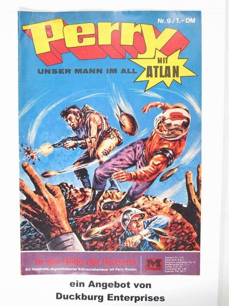 Perry Mann im All Nr. 9 (Moewig Verlag) 41746