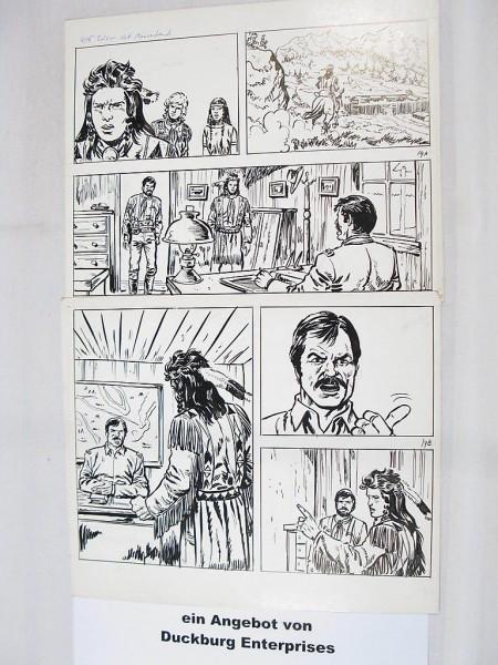Silberpfeil Originalseite 14 aus Heft 335 Frank Sels (27909)