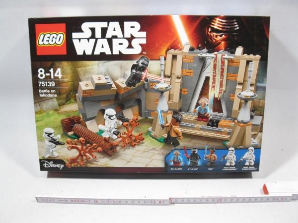Lego Star Wars 75139 Battle on Takodana MIB / in OVP L2009
