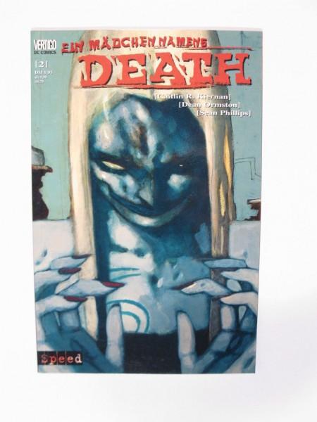 Mädchen namens Death 2 Comic Tilsner / Speed 99039
