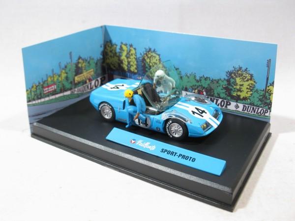 Michel Vaillant Auto Sport-Proto Metall Diorama 1:43 85292