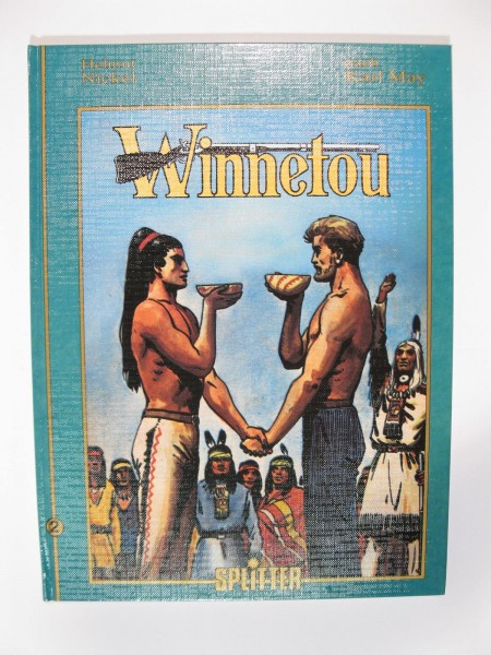 Winnetou Album Nr. 2 Splitter Verlag Hardcover 50656