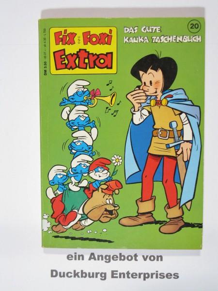 Fix und Foxi Extra Taschenbuch Nr. 20 Kauka im Z (1) 50418