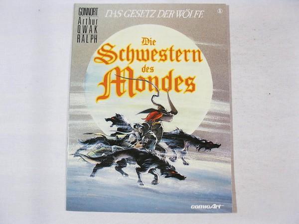 Gesetz der Wölfe Nr. 1 Carlsen Comic 1. Auflage 25894