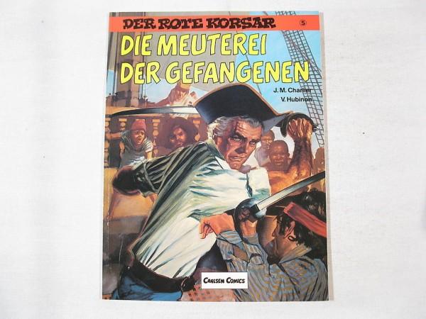 Roter Korsar Nr. 5 Carlsen Comic 2.Auflage 26050