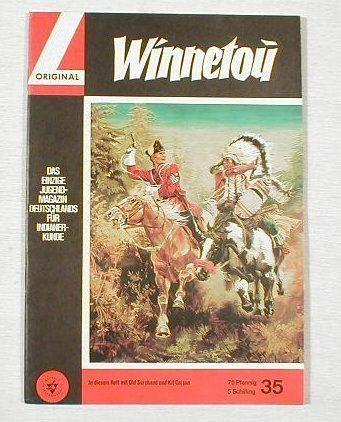Winnetou 35 (Lehning Verlag 1964) 7090 in Z 1 !!!