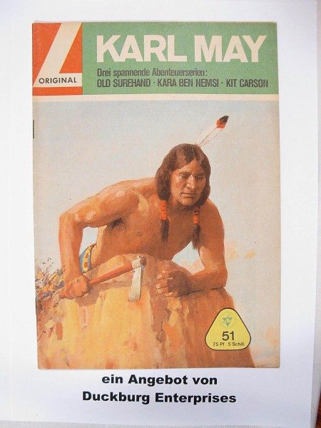 Karl May 51 Lehning Vlg. (Winnetou) in Z (1-2) 41540
