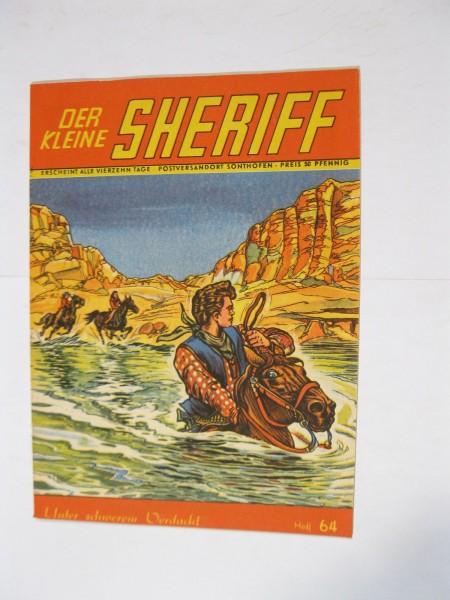 kleine Sheriff Nr. 64 Mondial Verlag im Zustand (1-2). 95895