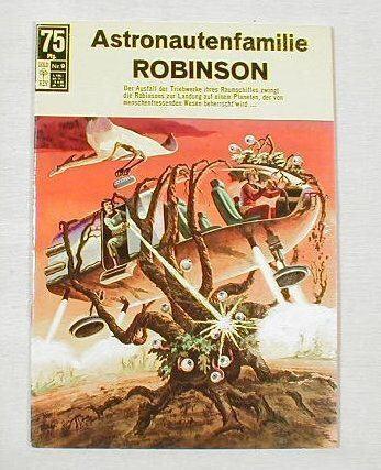 Astronautenfamilie Robinson 9 (BSV 1966)7417 Z 1 !!!