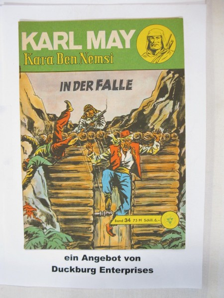 Karl May 34 Lehning Verlag (Winnetou) im Zustand (1-2) 45573