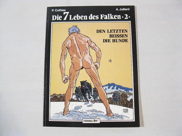 Sieben Leben des Falken Nr. 2 Carlsen 1. Aufl. 26124