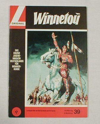 Winnetou 39 Lehning Verlag Karl May 11523