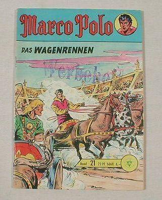Marco Polo Nr. 21 Comic Lehning Verlag 11335
