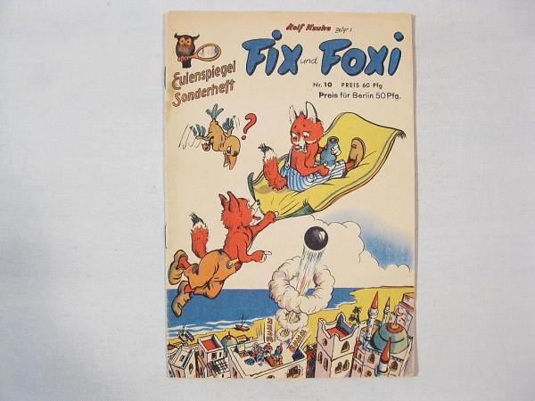 Fix und Foxi / Eulenspiegel Nr. 10 Kauka / Pabel 19964