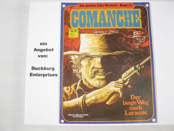 Große Edelwestern Nr. 13: Comanche Ehapa 1.Aufl. 26537