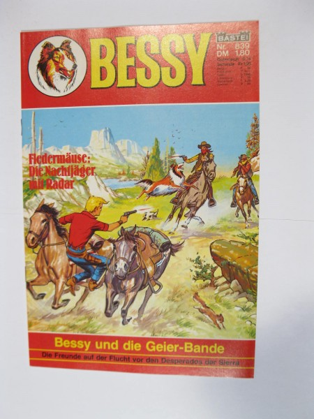 Bessy Comic-Heft Nr.839 Bastei im Zustand (0-). 106221