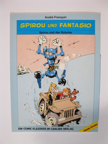 Spirou Classics Roboter Carlsen 1. Auflage 50595