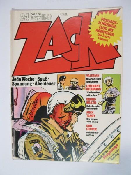 ZACK Comic Nr. 73/24 Koralle Vlg. im Zustand (1-2). 78557