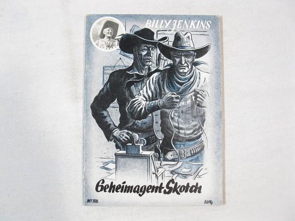 Billy JENKINS Heft Nr. 182 Uta-Verlag Z (1-2) 37588