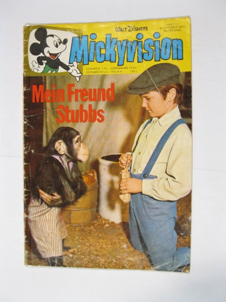 Mickyvision / Micky Vision 1963/12 Ehapa im Zustand (3-4). 95177