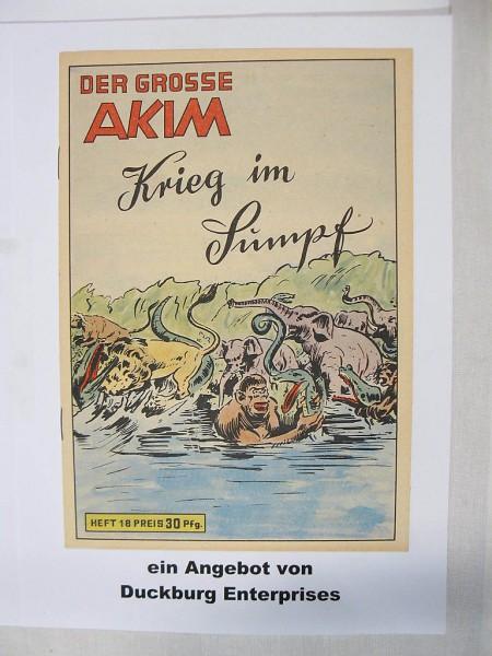 Akim der Große Nr. 18 Lehning Verlag im TOP-Zustand (0-1/1) 43458