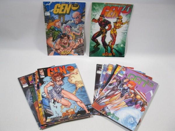 20x GEN 13 Hefte Splitter Verlag 1997 mit Variantcover 73044