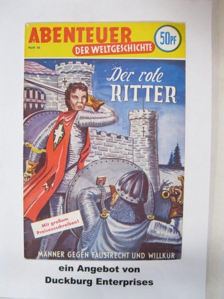 Abenteuer der Weltgeschichte Nr. 16 Lehning Verlag im Zustand (1-2) 46671