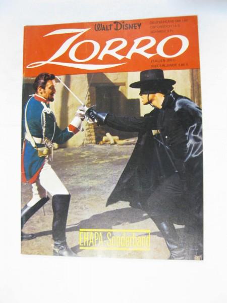 Ehapa Sonderband Nr. 2 Zorro Ehapa im Zustand (1-2). 120861