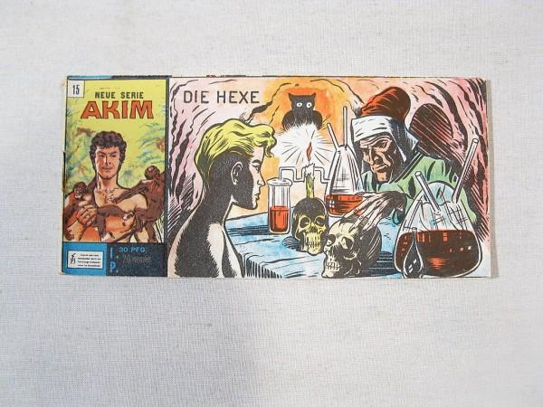 Akim Neue Serie Nr. 15 Bozzesi Verlag Piccolo 34031