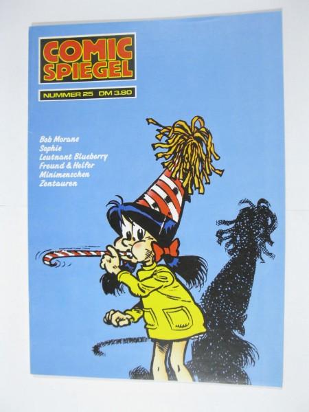 Comic Spiegel Magazin Nr. 25 mit Inhaltsverzeichnis Feest Vlg. . 117621