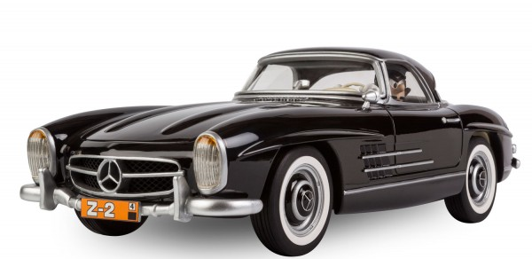 Garage de Franquin Mercedes 300SL Roadster Zantafio figures et vous